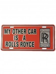 Autoschild My 0ther Car is a Rolls Royce