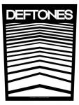 Deftones Rückenaufnäher Abstract Lines