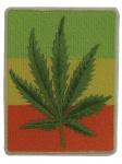 Aufn?her Cannabis Blatt