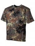 US Militär T-Shirt Flecktarn