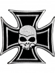 Aufn?her Eisernes Kreuz mit Totenkopf