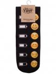 Sneaker Socken bedruckt Emoji Batteriestand