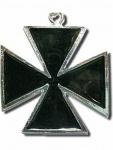 Halskette Eisernes Kreuz schwarz