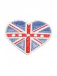 Aufbügler Herz Großbritannien