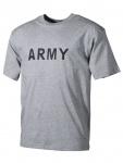 T-Shirt Army grau