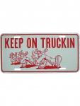Kennzeichen Keep on Truckin
