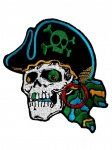 Aufnäher Piraten Totenkopf