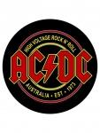 ACDC Rückenaufnäher Rock N Roll