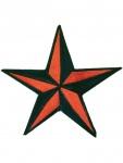 Aufnäher Stern rot