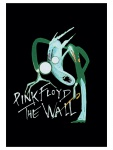 Pink Floyd Poster Fahne The Wall schwarz