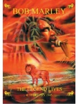 Bob Marley Poster Fahne The Legend Lives