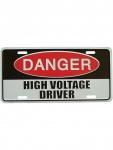 Autoschild Danger High Voltage
