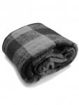 Buffalo Decke gewebt grau