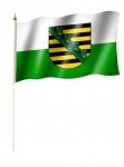 Stockfahne Sachsen