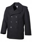 US Jacke Pea Coat schwarz