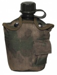 US Plastik Feldflasche 1 L HDT-camo FG