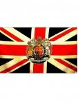 Fahne Grossbritannien mit Wappen