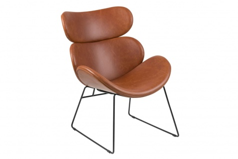PKline Sessel CAZY in braun Relaxsessel Loungesessel Clubsessel