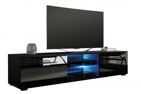 kommode sideboard schwarz hochglanz online kaufen yatego. Black Bedroom Furniture Sets. Home Design Ideas