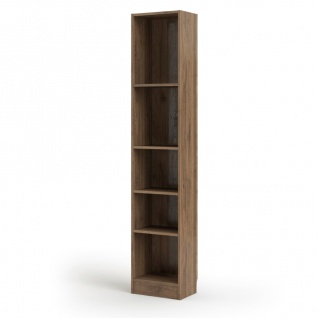 Regal Base Standregal Ablageregal Schrank Regalwand Bücherregal Walnuss Dekor