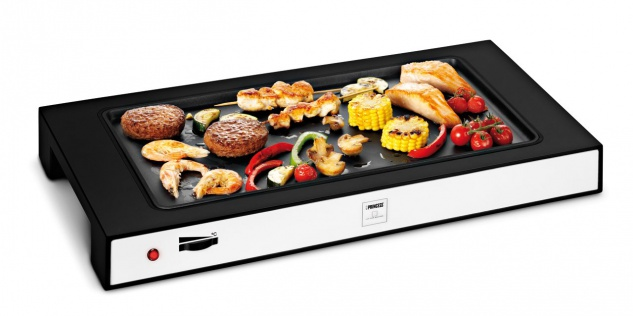 Table Chef Simply White Tischgrill Elektrogrill Grillplatte Teppan Yaki Plancha