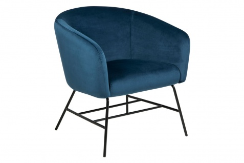PKline Sessel RAMY in blau Relaxsessel Loungesessel Clubsessel