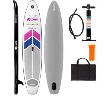 SUP Stream 12.0 Stand up Paddle Surfboard Board Paddelboard 366mm Paddelbrett