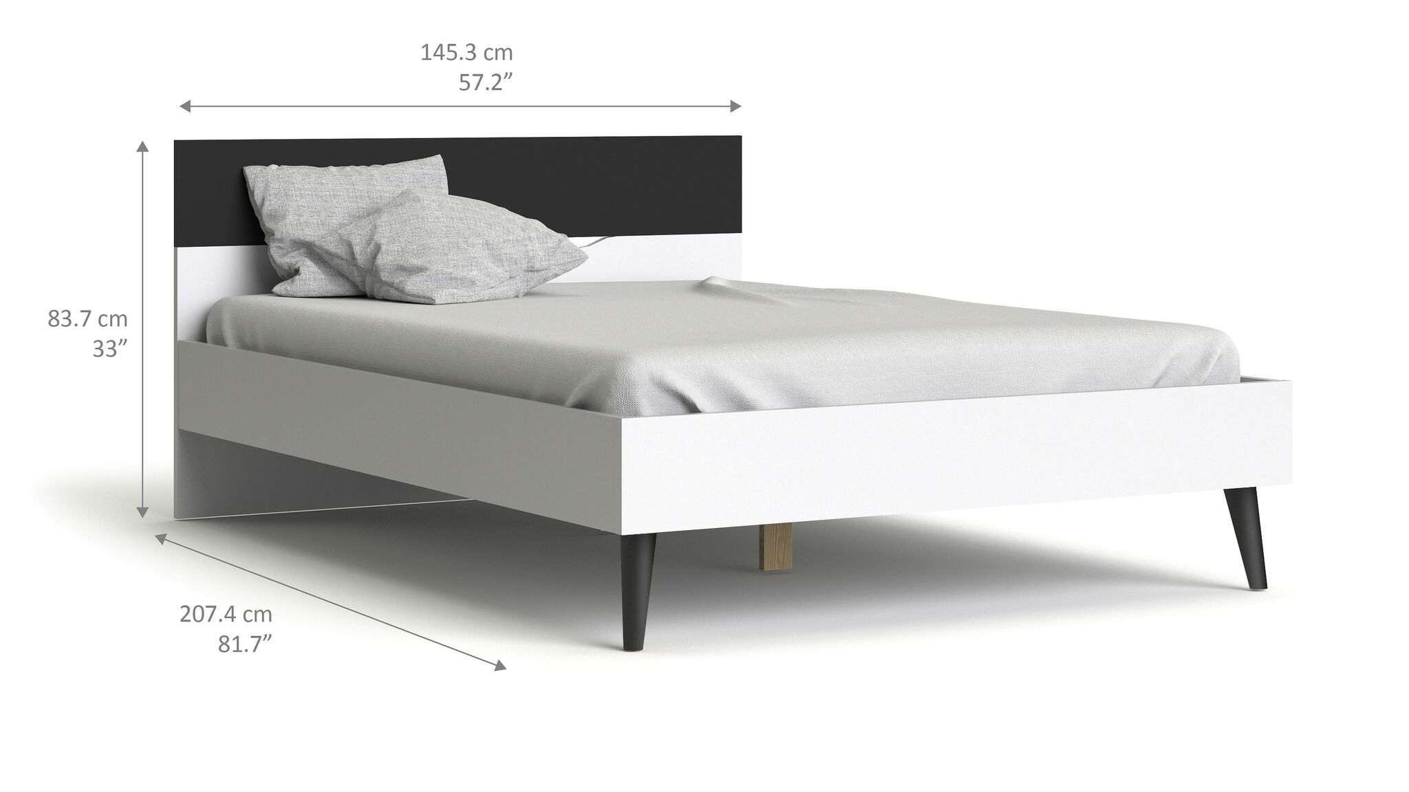 doppelbett napoli bettgestell ehebett bett schlafzimmer. Black Bedroom Furniture Sets. Home Design Ideas