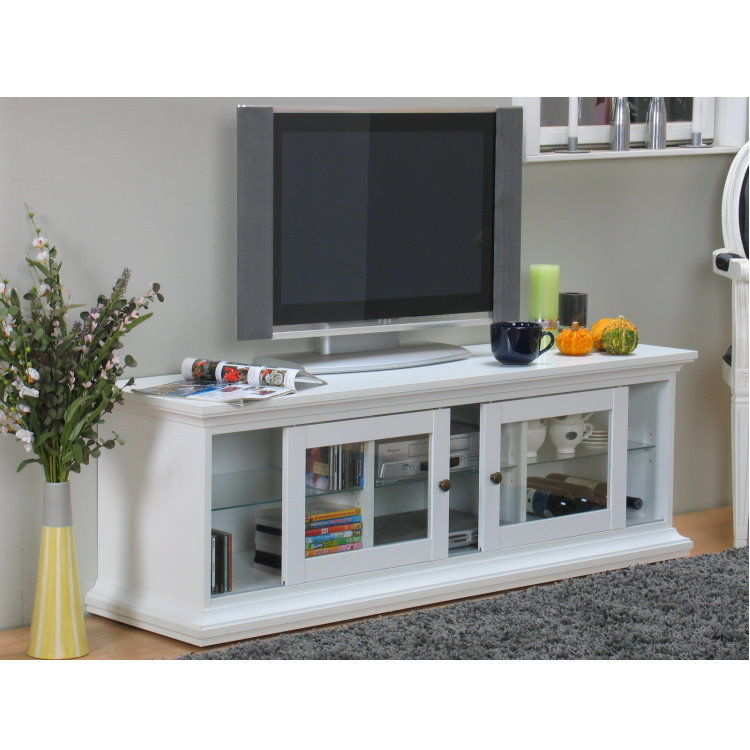 paris tv hifi tisch board lowboard phono schrank kommode wei landhaus kaufen bei dtg dynamic. Black Bedroom Furniture Sets. Home Design Ideas