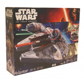 Star Wars E7 Battle Action Millennium Falke Modell Raumschiff Licht Sound Figur
