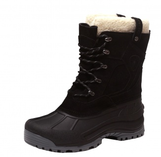 Echt Leder Winterstiefel Thermo Stiefel Winter Snowboots Canadian Boots Lammfell