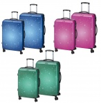CHECK.IN 2tlg. Trolley Set L XL Reisekoffer Kofferset Koffer ABS Polycarbonat