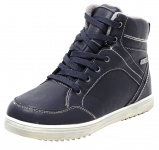 Winter Thermo Membran Sneaker Boots Unisex Freizeit Schuhe Stiefel Booties navy