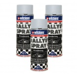 3x Spraydose Rallye Spray Grundierung 400ml 100ml/0, 83€