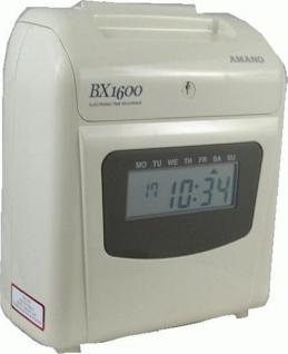 AMANO BX 1600 / Stempeluhr mit DIGITAL-Anzeige