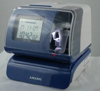 Amano Zeitstempler PIX 200 - Vorschau 2