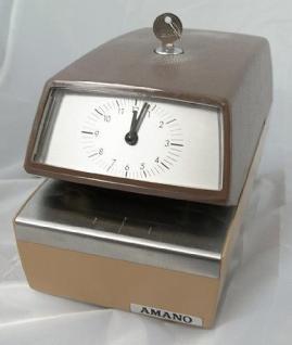 Farbband für Zeitstempler Amano 4740
