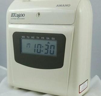 Farbband für Amano Stempeluhr BX 1600 - Vorschau 2