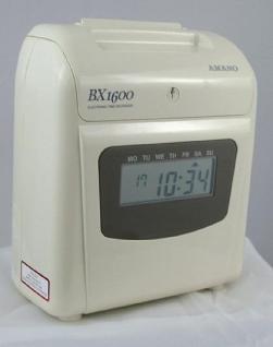 Farbband für Amano Stempeluhr BX 1600