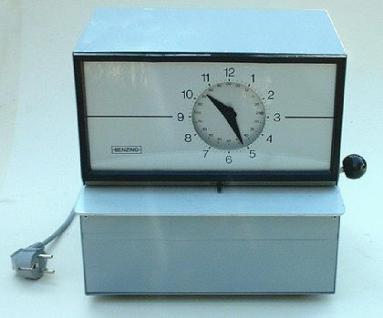 Zeit- und Datumstempler Benzing Horada