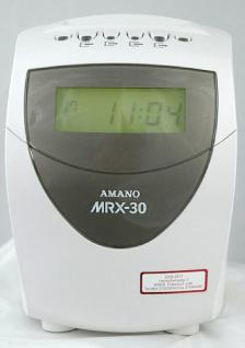Rechnende Stempeluhr AMANO MX 300 * NEU mit Signalausgang