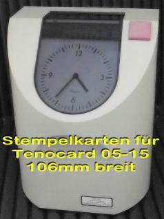 Stempelkarten für Tenocard 05 10 15