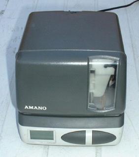 Farbband für Amano Zeitstempler PIX 10 bis PIX 21 - Vorschau 2
