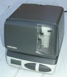 Farbband für Amano Zeitstempler PIX 10 bis PIX 21