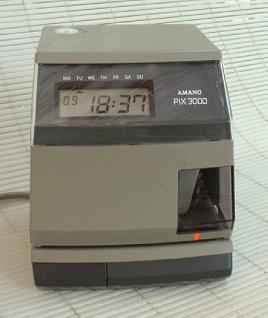 Farbband für Amano Zeitstempler PIX 3000 - Vorschau 2