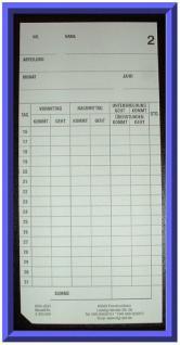 AMANO BX 1500 S /überholte Stempeluhr mit Analog Anzeige - Vorschau 4