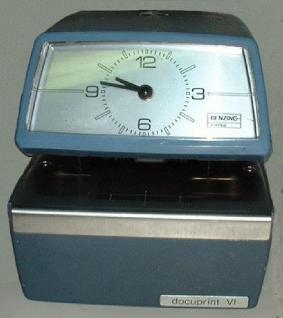 Farbband für Zeitstempler Benzing Docuprint VI