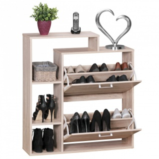 schuhschrank schuhkommode g nstig kaufen bei yatego. Black Bedroom Furniture Sets. Home Design Ideas