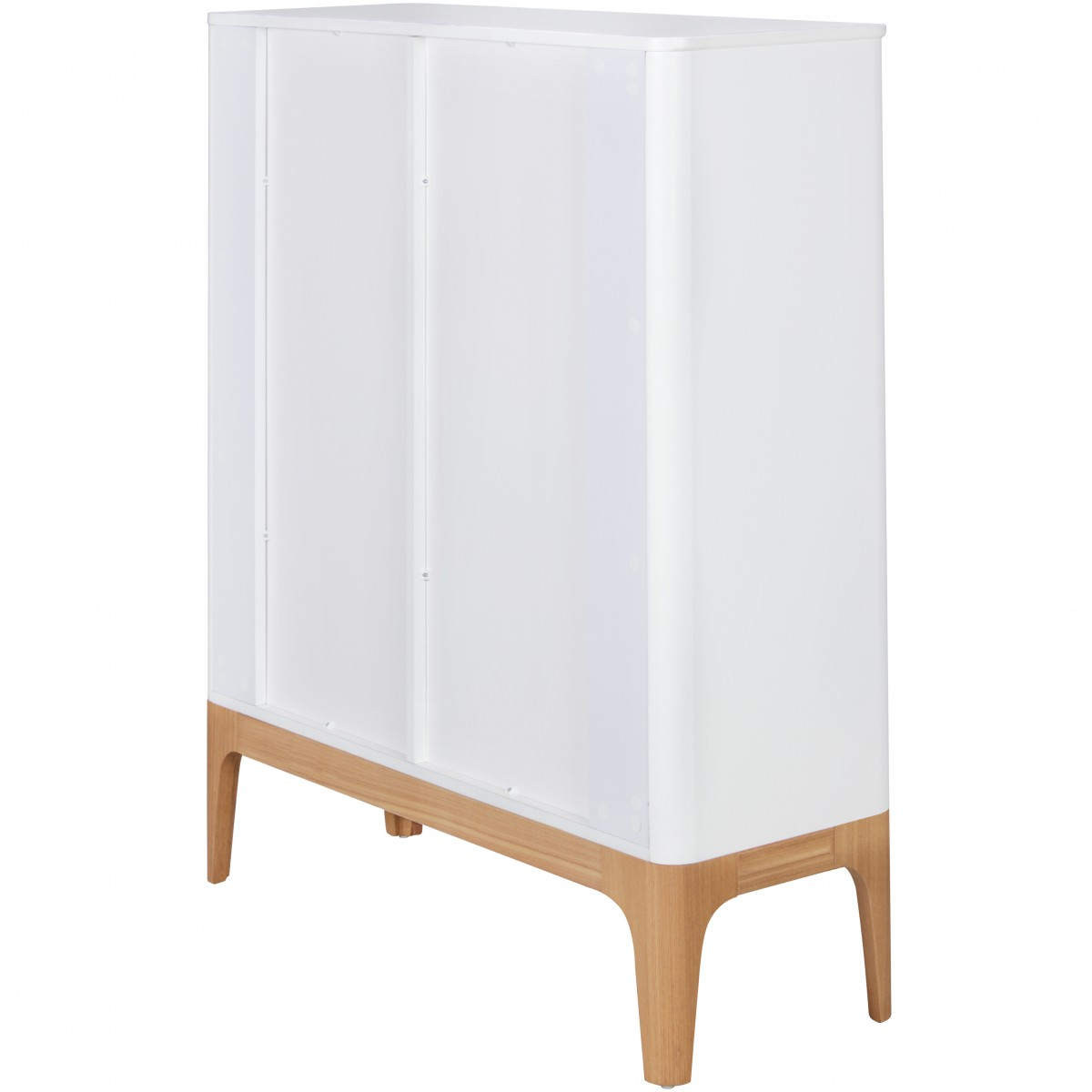 Finebuy design highboard scanio skandinavisch wei mdf for Kommode 140 x 100