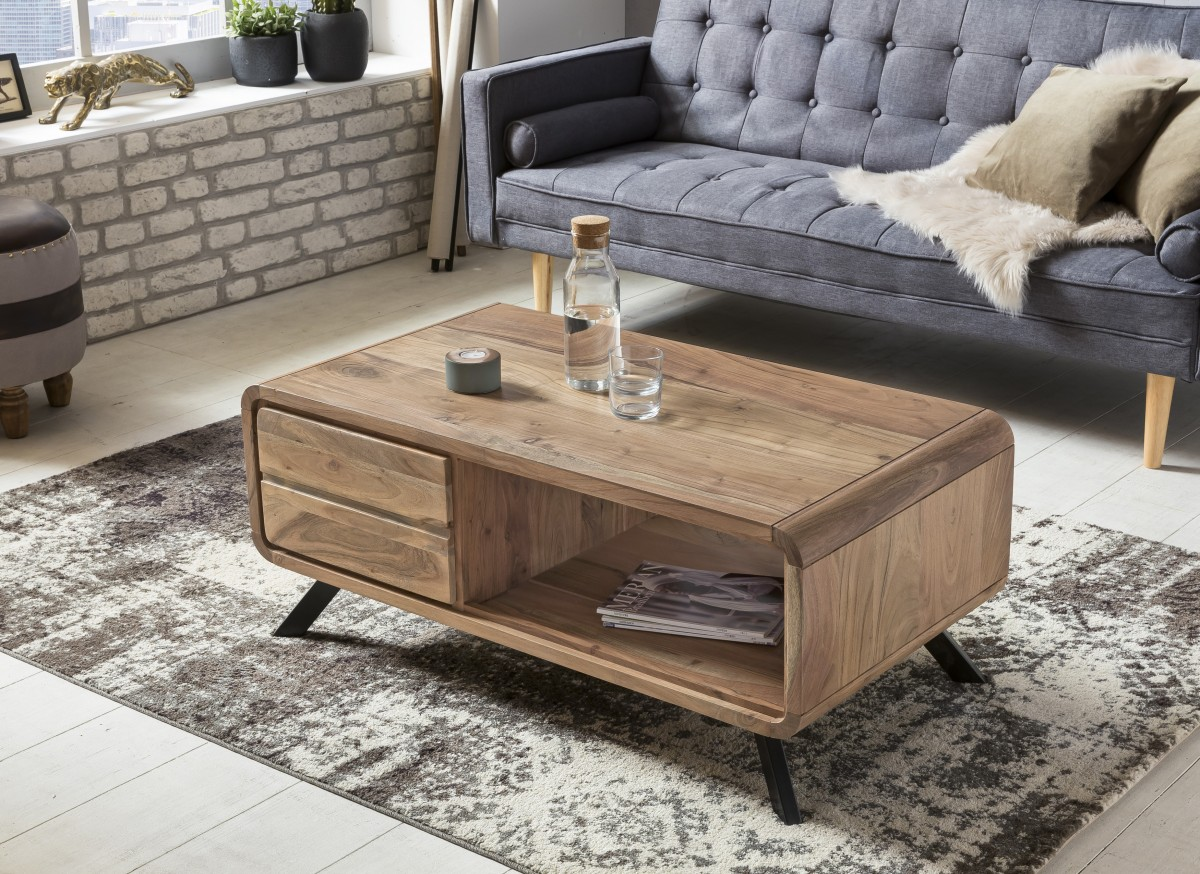 Perfect Stunning Affordable Wohnling Couchtisch Boha Aus Massivholz Akazie  X Cm Im With Couchtisch Holz Hhe Cm With Couchtisch Hhe Cm With Hhe With  Hhe ...